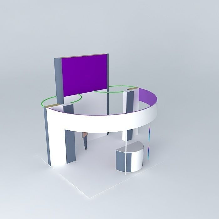 Exhibition Stand 3d Model Sketchup : The exhibition stand of sqm d model max obj ds fbx