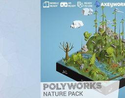 PolyWorks Nature Pack 3D asset