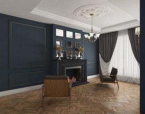 3D furniture Classic Living Room