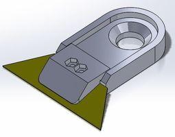 3d printable model box cutter blade holder