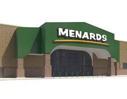 Retail-061 Menards 3D