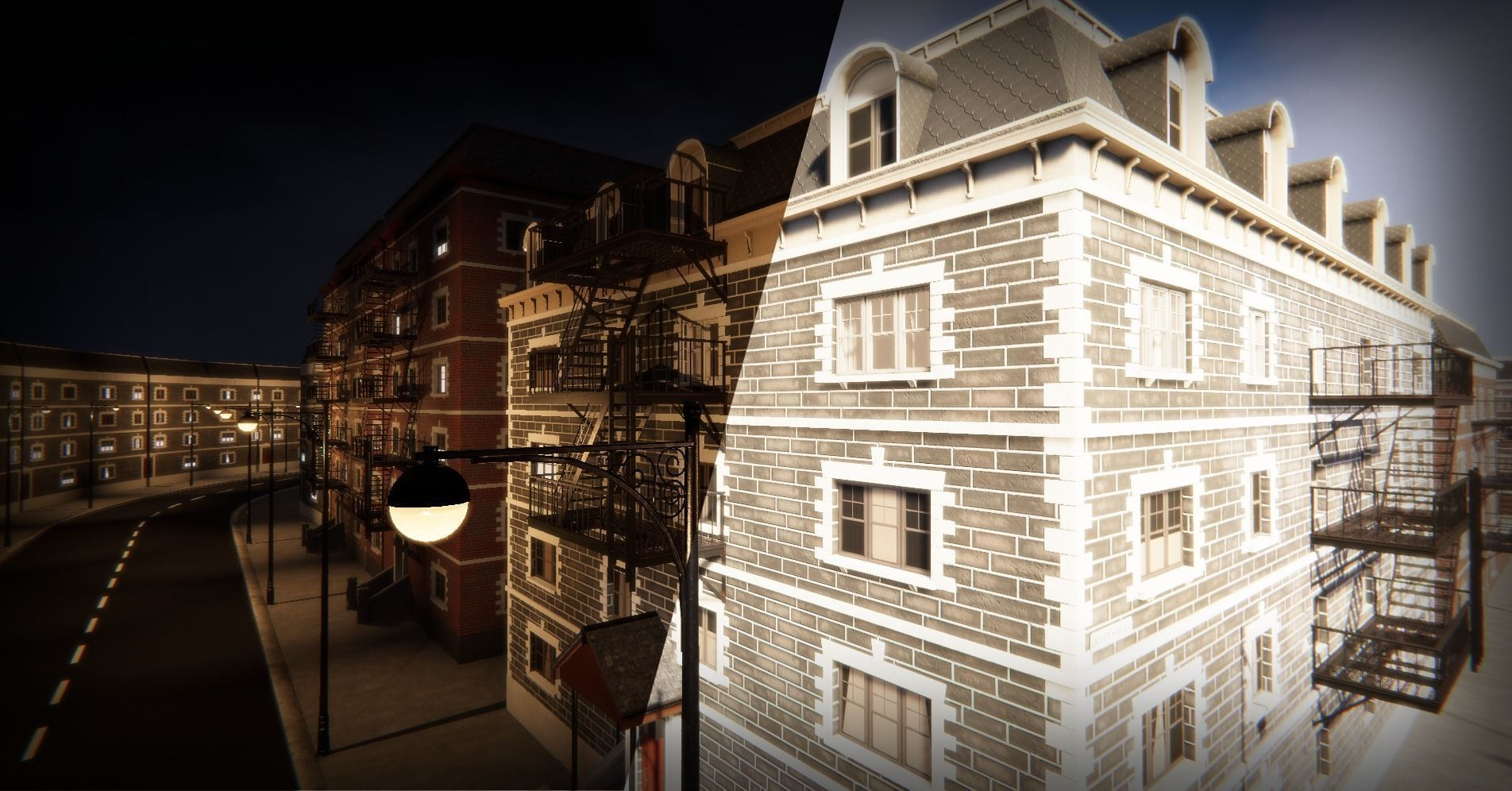 Modular Apartment Environment for Unity | 3D model