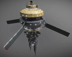 3D model Space Force 1 Orbital Station