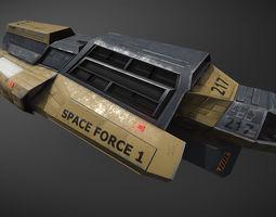 3D asset Space Force 1 Transport