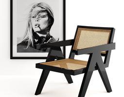 3D Eichholtz Chair Adagio and Print Brigitte Bardot