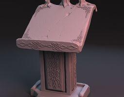 3D model Pulpit
