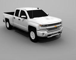 Chevrolet Silverado 2018 3D model