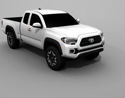 3D model Toyota Tacoma 2017