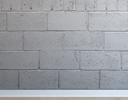 Masonry of blocks Blocks-001 3D asset