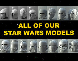 Star Wars - all our 3Demon models