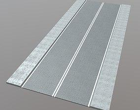 Street - Straight 3D asset