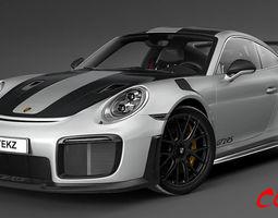 3D Porsche 911 GT2 RS 2019
