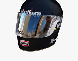 James Hunt helmet 3D model
