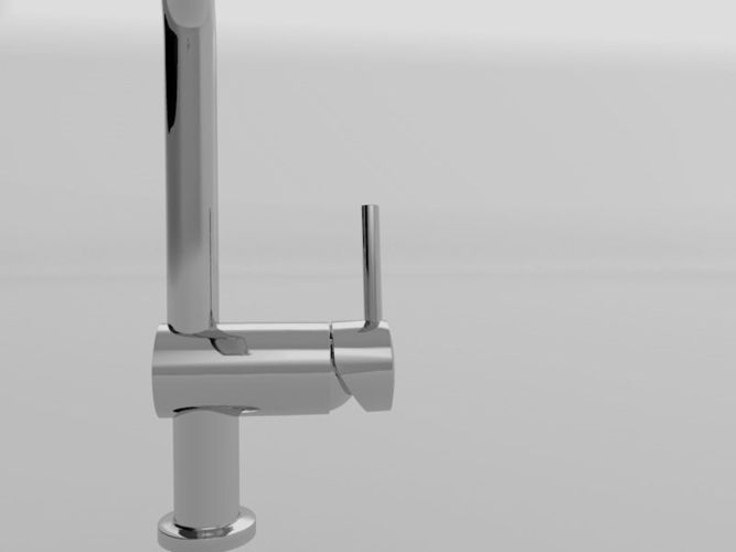 Grohe Minta Touch Free 3d Model C4d