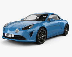 Renault Alpine A110 Premiere Edition 2017 3D model