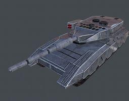 Pride Tank 3D asset