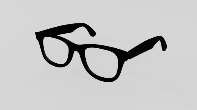 glassess 3d model max obj mtl fbx dwg 1