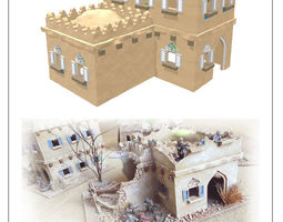 modular arabic building set 2 -stl file- 3D print model