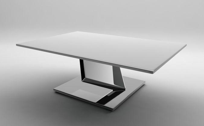 ultrarealistic futuristic table 3d model obj mtl 3ds fbx c4d dae 1
