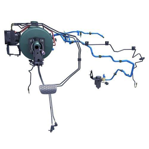 car brake system 3d model max 1