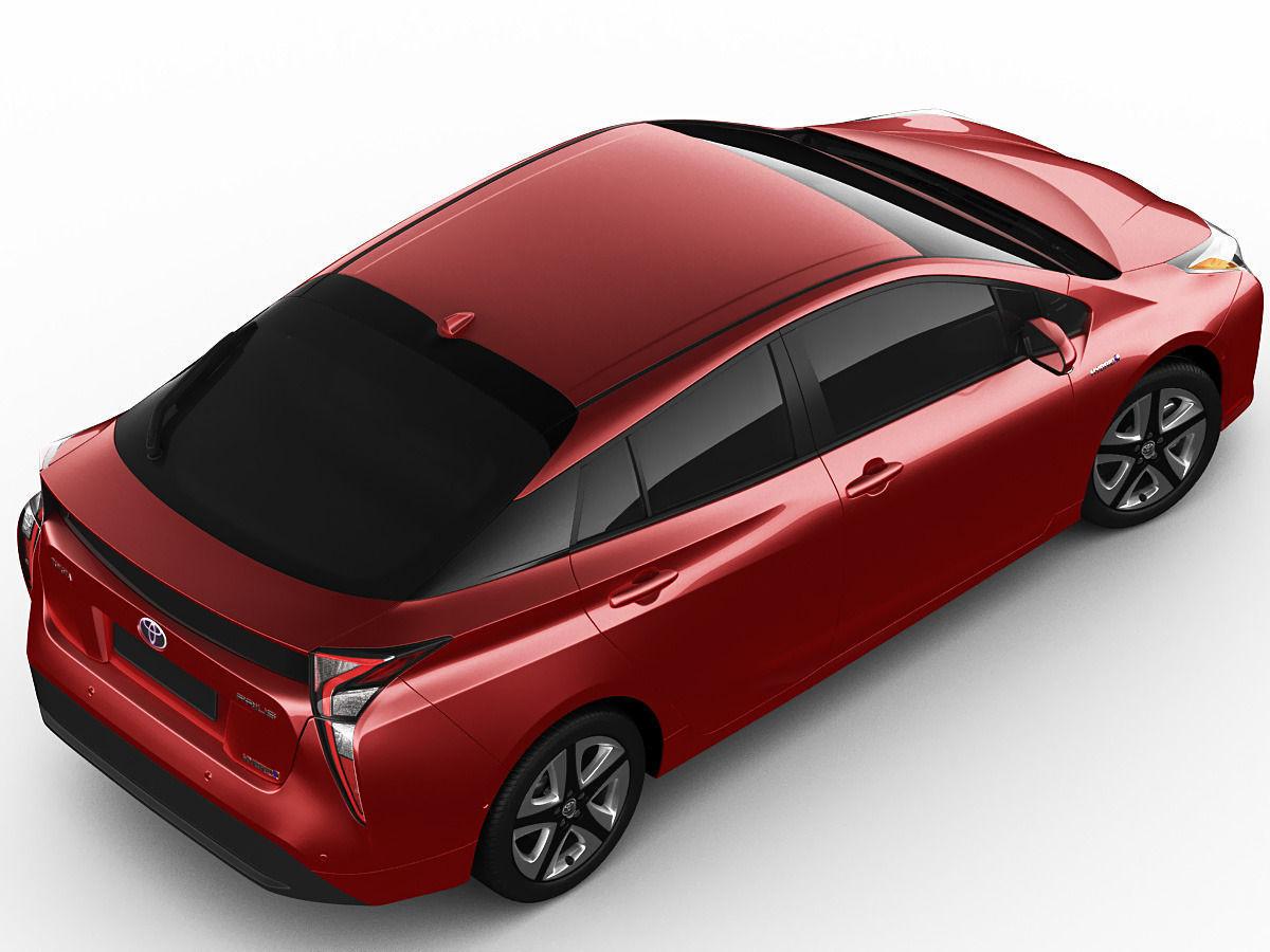 Toyota Prius 2016 Model Max Obj Mtl S Fbx C4d Lwo Lw Lws 7