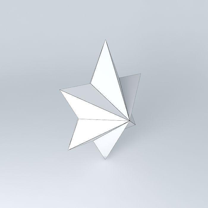 Star Commands Star Symbol 3d Cgtrader