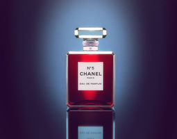 Chanel Perfume Bottle 3D model