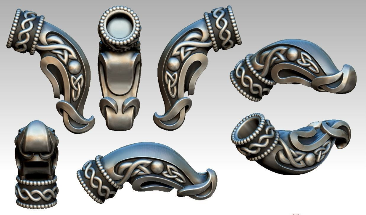 Celtic Dragon Head Jewelry