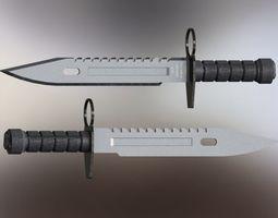 M9 Bayonet 3D