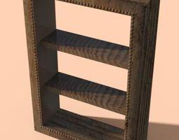 Knicknack Shelf 3D model