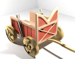 3D Chariot - Sumerian