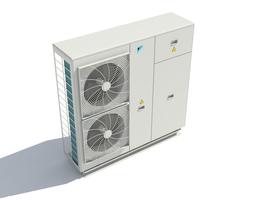 Heat pump 3D