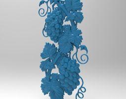 3D print model Double Grapes