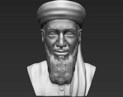 Osama bin Laden bust 3D printing ready stl obj