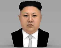 Kim Jong-un bust ready for full color 3D printing
