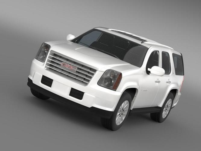 Gmc Yukon Hybrid 2008 Model