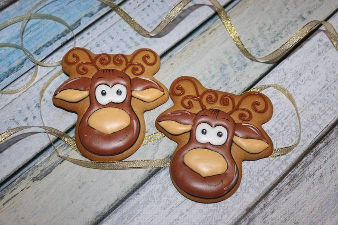 new year cookies 3d model stl 1