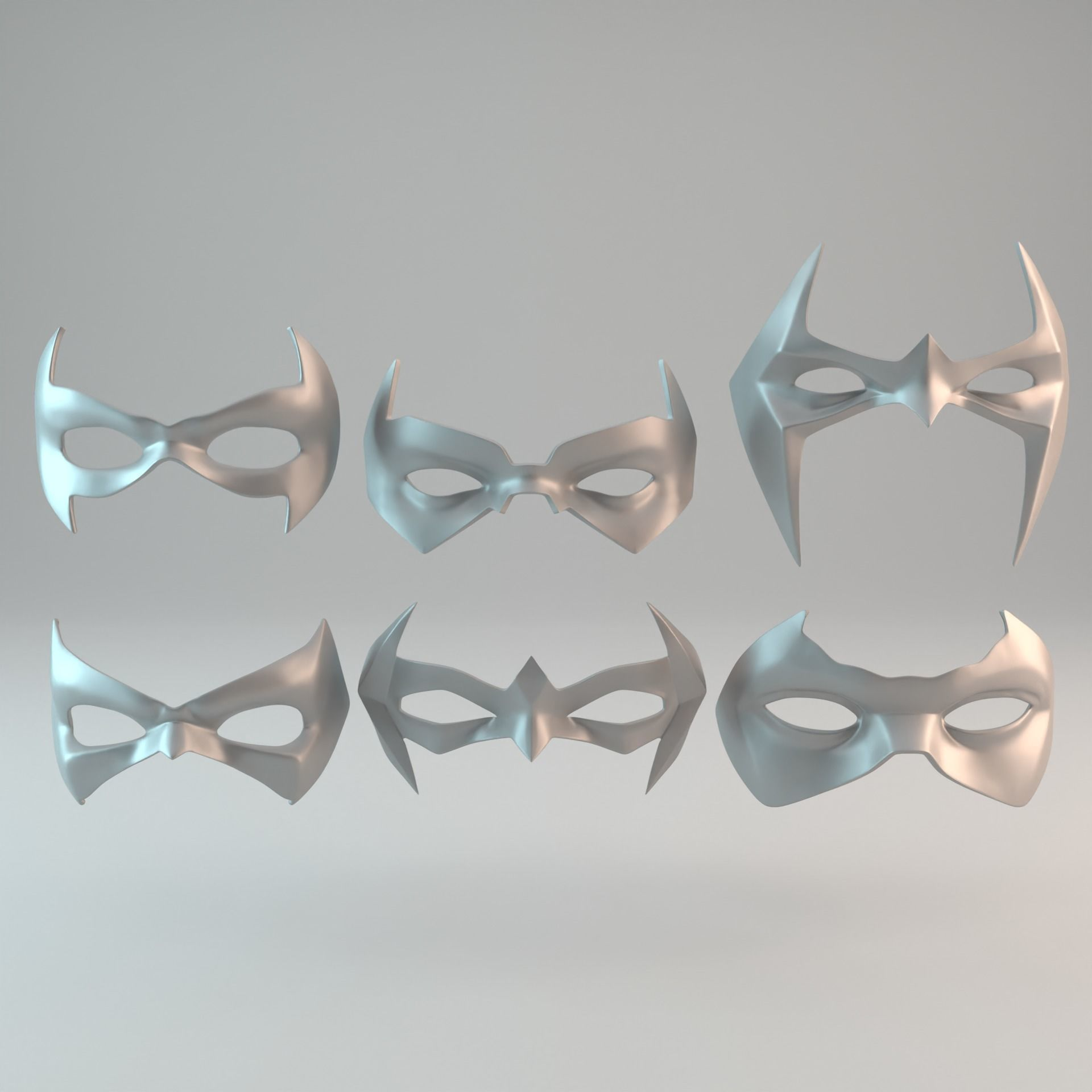 6 Batman sidekicks eye masks