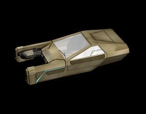 3D Flying Car 2049