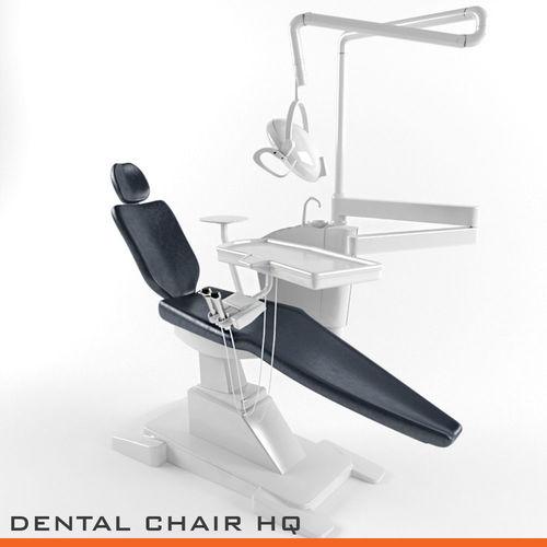 dentist chair high quality dental 3d model max obj mtl 3ds fbx 1