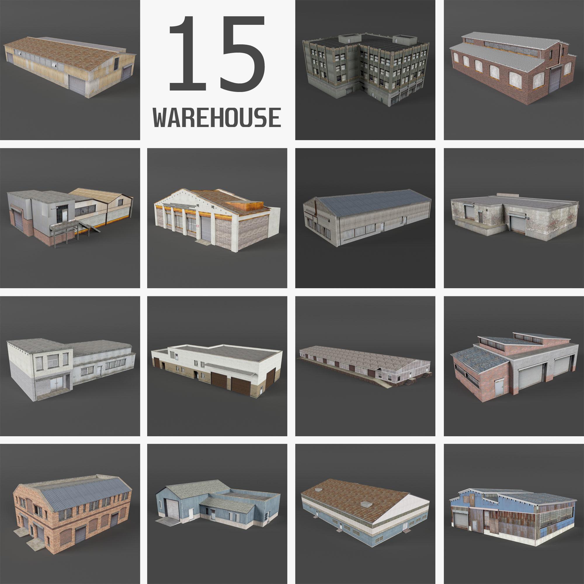 15 Industrial Buildings Collection II