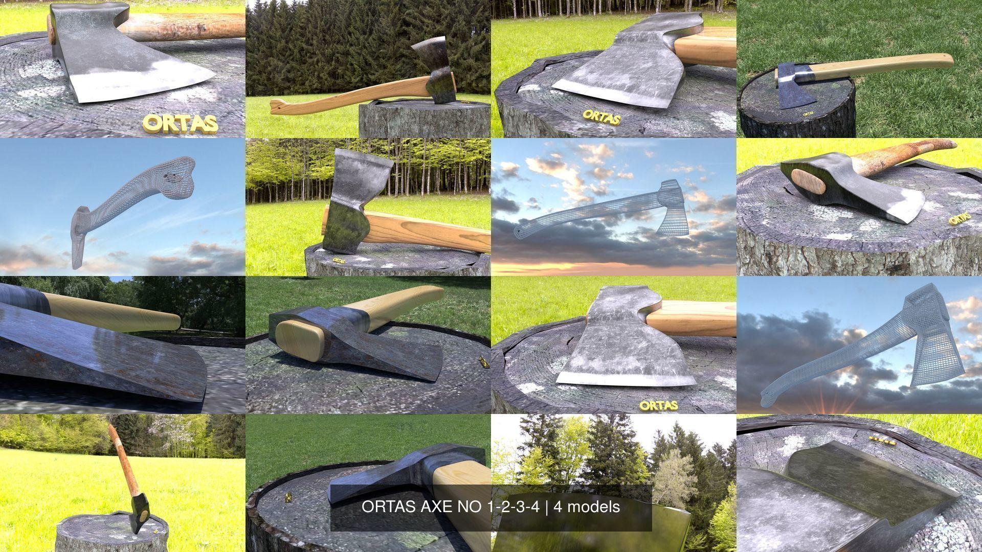 ORTAS AXE NO 1-2-3-4