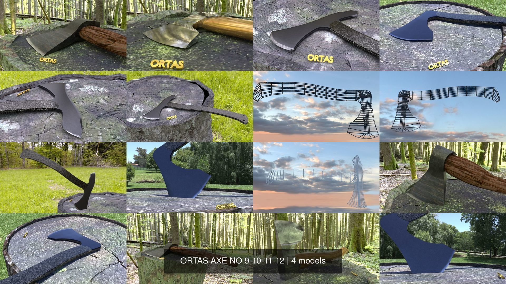 ORTAS AXE NO 9-10-11-12