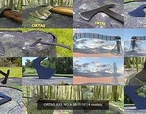 ORTAS AXE NO 9-10-11-12 3D model