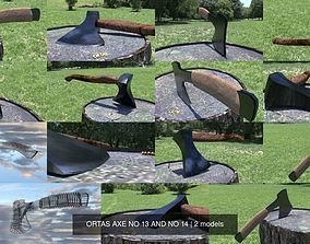 3D ORTAS AXE NO 13 AND NO 14