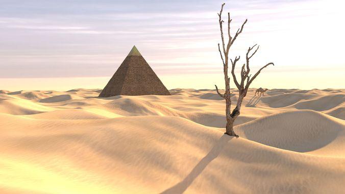 Desert Sand Dune Landscape modular