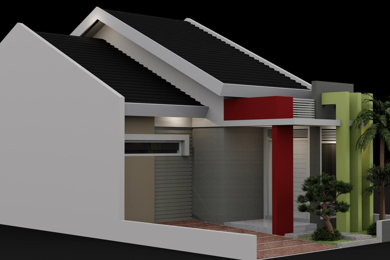 Small house design 3d model max for Small house design 3d