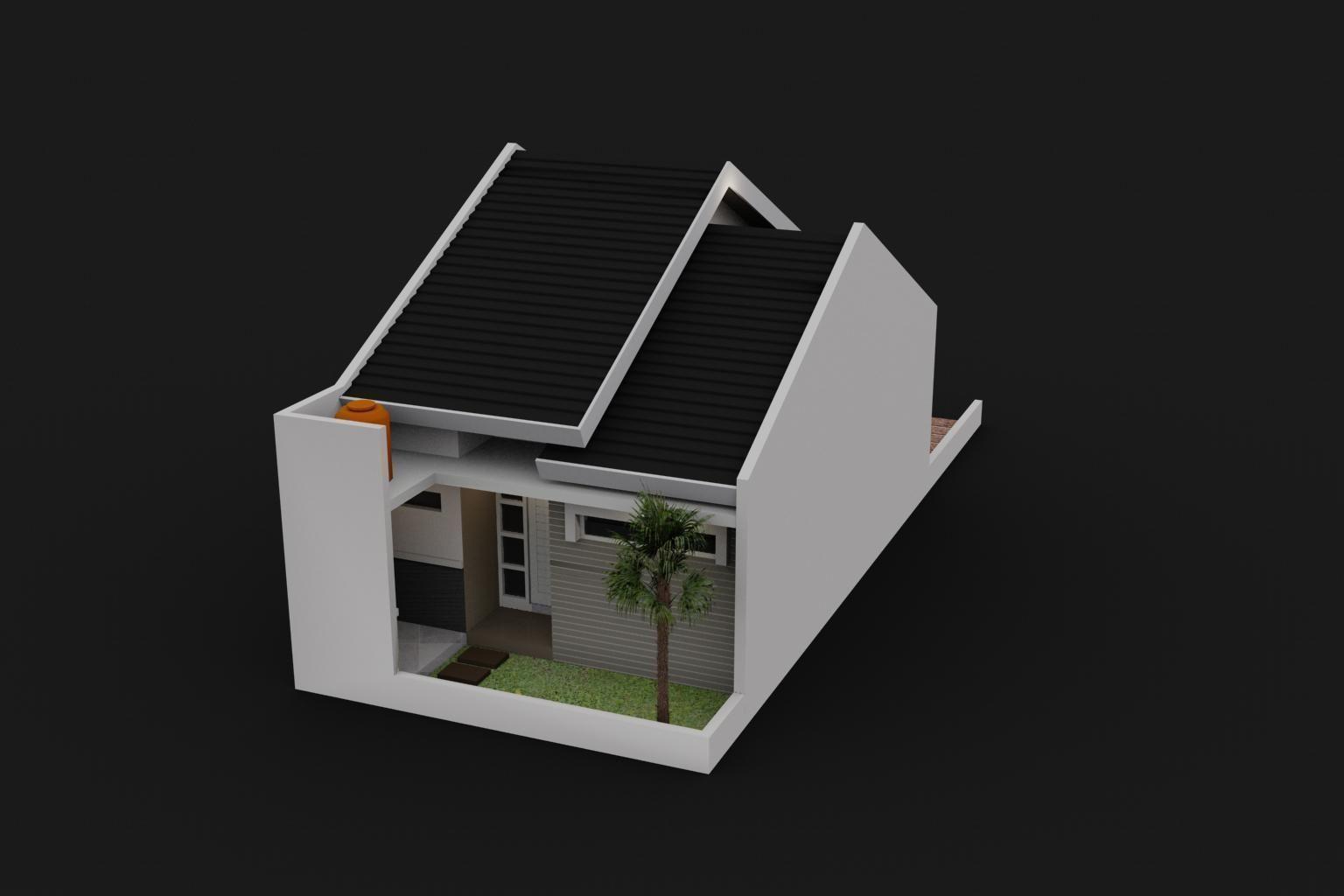 Small House Design 3d Model Max