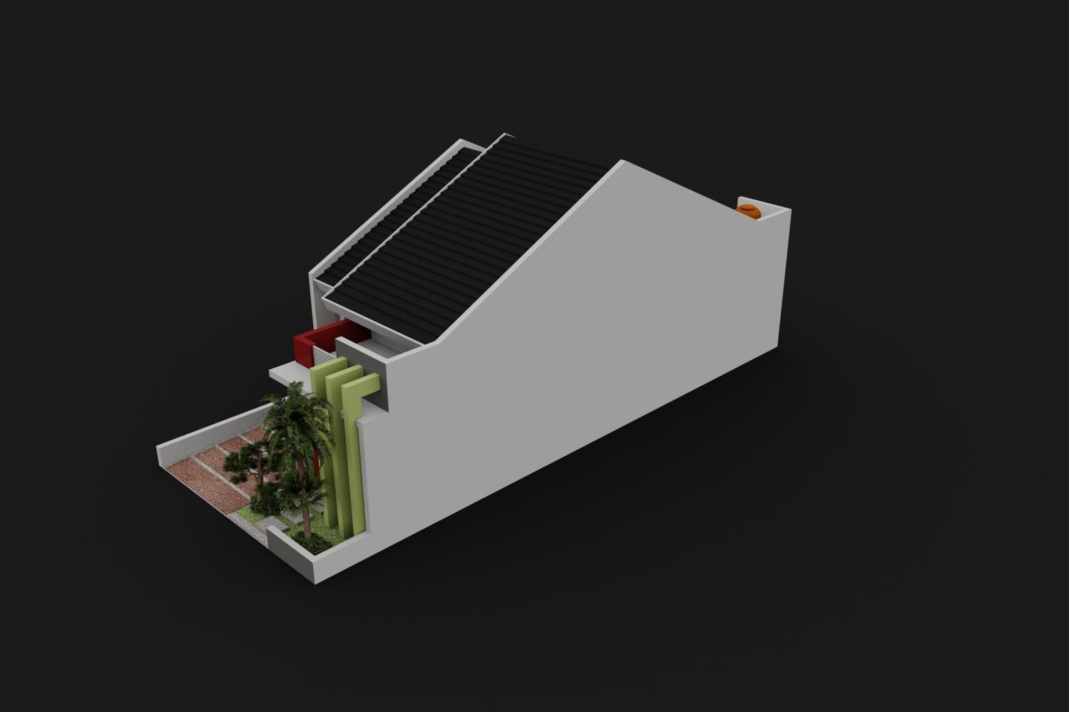 Small house design 3d model max for 3d decoration models
