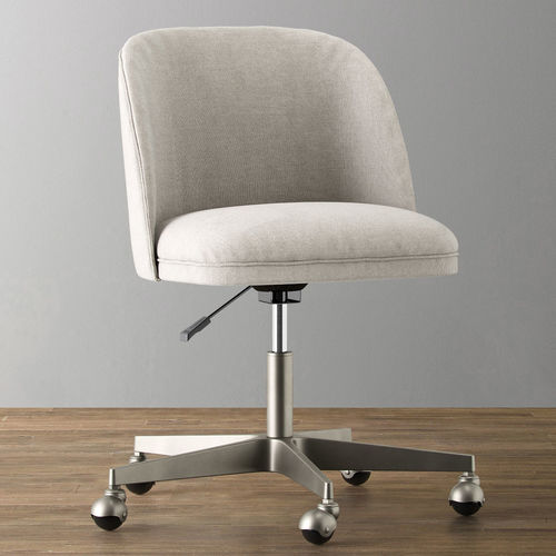 alessa upholstered desk chair 3d model max obj mtl fbx mat 1 ... & ALESSA UPHOLSTERED DESK CHAIR 3D | CGTrader